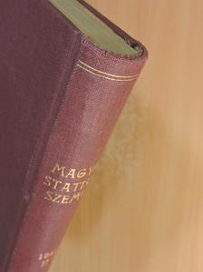 Baráth Tibor - Magyar Statisztikai Szemle 1941. július-december (fél évfolyam) [antikvár]