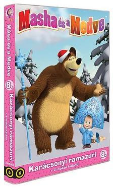 Mása és a Medve 8.-as DVD (6) - Karácsonyi ramazuri + 4 mókás kaland