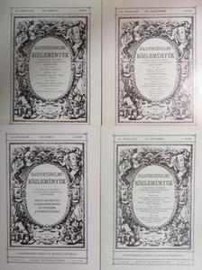 Abonyi-Naredy Ferenc - Hadtörténelmi Közlemények 1991/1-4. [antikvár]
