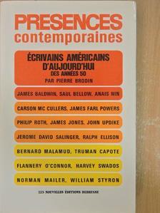 James Baldwin - Présences contemporaines [antikvár]