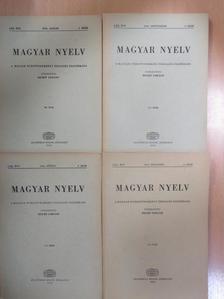 Antal László - Magyar Nyelv 1974. január-december [antikvár]