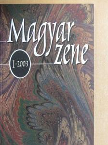 Breuer János - Magyar Zene 2003/1. [antikvár]