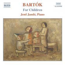 Bartók Béla - FOR CHILDREN CD JANDÓ JENŐ