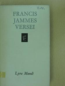 Francis Jammes - Francis Jammes versei [antikvár]