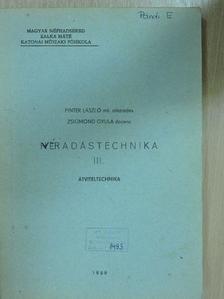 Pintér László - Hiradástechnika III. [antikvár]