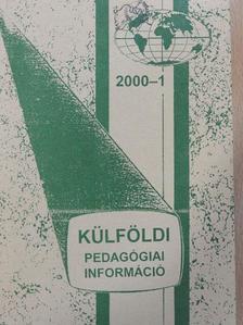 Csík Tibor - Külföldi Pedagógiai Információ 2000/1 [antikvár]