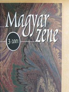 Bónis Ferenc - Magyar Zene 2001/3. [antikvár]