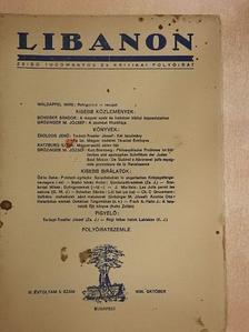 K. J. - Libanon 1938. október [antikvár]