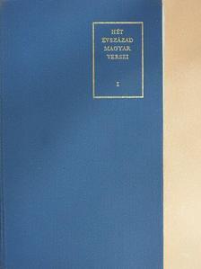 Amade Antal - Hét évszázad magyar versei I. (töredék) [antikvár]