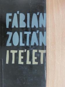 Fábián Zoltán - Ítélet [antikvár]