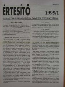 Dr. Garami Erika - Értesítő 1995/1. [antikvár]