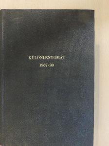 Csata Sándor - Orvosi szaklapok különlenyomatainak egyedi gyűjteménye (49 db) [antikvár]