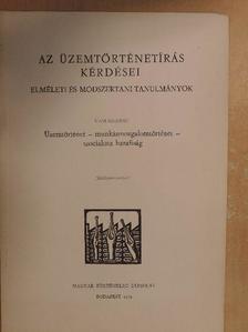 Vass Henrik - Üzemtörténet - munkásmozgalomtörténet - szocialista hazafiság [antikvár]