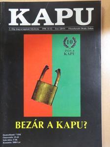 Csontos Gábor - Kapu 1998/11-12. [antikvár]