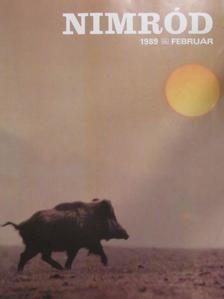 Csekő Sándor - Nimród 1989. február [antikvár]