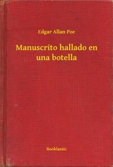 Edgar Allan Poe - Manuscrito hallado en una botella [eKönyv: epub, mobi]
