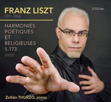 Liszt Ferenc - Harmonies poétiques et religieuses S. 173 - DUPLA CD