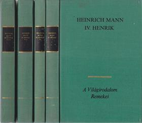 MANN, HEINRICH - IV. Henrik I-IV. [antikvár]