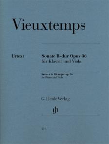 VIEUXTEMPS - SONATE B-DUR OP.36 FÜR KLAVIER UND VIOLA (P. JOST)