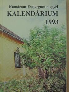 Alberti Ágnes - Komárom-Esztergom megyei Kalendárium 1993 [antikvár]