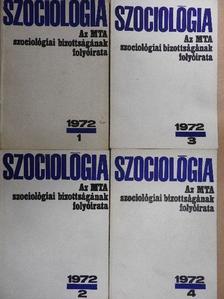A. G. Harcsev - Szociológia 1972/1-4. [antikvár]