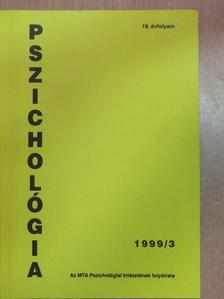 Békés Judit - Pszichológia 1999/3. [antikvár]