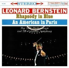 GERSHWIN - RHAPSODY IN BLUE - AN AMERICAN IN PARIS CD BERNSTEIN