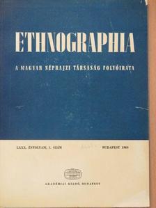 Balassa M. Iván - Ethnographia 1969/1. [antikvár]