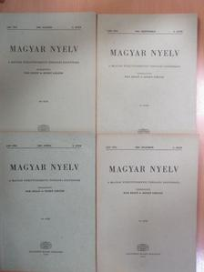 Balázs János - Magyar Nyelv 1969/1-4. [antikvár]