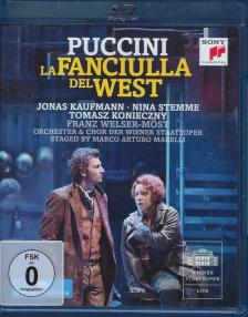 Puccini - LA FANCIULLA DEL WEST BLU-RAY - KAUFMANN -