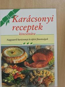 Új karácsonyi receptek kincsestára [antikvár]