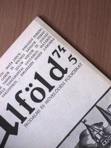 Ablonczy László - Alföld 1974/5. [antikvár]