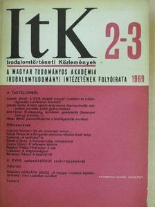 Bíró Ferenc - Irodalomtörténeti Közlemények 1969/2-3. [antikvár]