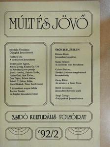Bacskai Sándor - Múlt és Jövő 1992/2. [antikvár]