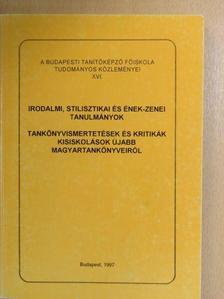 Bocsák Istvánné - Irodalmi, stilisztikai és ének-zenei tanulmányok [antikvár]