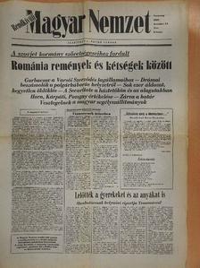 Király Béla - Magyar Nemzet 1989. december 24. [antikvár]