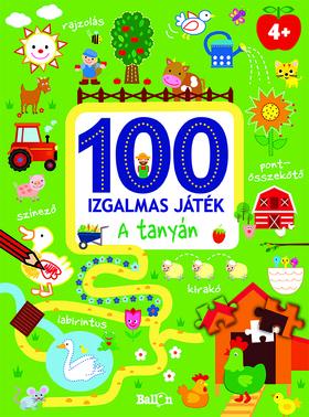 NINCS SZERZŐ - 100 izgalmas játék - A tanyán