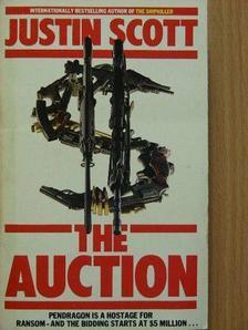 Justin Scott - The Auction [antikvár]