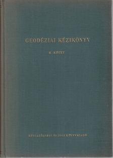 Hazay István - Geodéziai kézikönyv II. [antikvár]