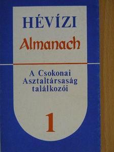 Bandel Lajos - Hévízi Almanach 1. [antikvár]