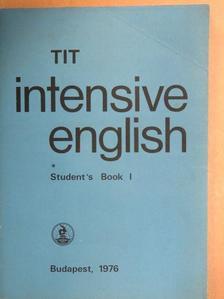 Inkei Péter - TIT intensive English - Student's Book I. [antikvár]