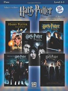 WILLIAMS JOHN - SELECTIONS FROM HARRY POTTER FOR FLUTE SOLO  + CD INSIDE (LEVEL 2-3)