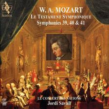 MOZART - LE TESTAMENT SYMPHONIQUE 2CD SYMPHONIES 39,40 & 41