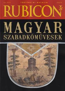 RUBICON - 2020/10 MAGYAR SZABADKŐMŰVESEK