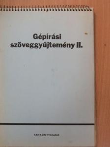 Artner Tivadar - Gépírási szöveggyűjtemény II. [antikvár]