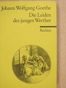 Johann Wolfgang Goethe - Die Leiden des jungen Werther [antikvár]