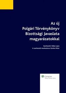VÉKÁS LAJOS - Az új Polgári Törvénykönyv Bizottsági javaslata magyarázatokkal [eKönyv: epub, mobi]