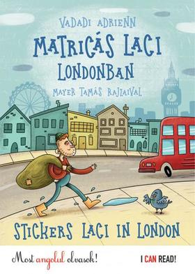 Vadadi Adrienn - Matricás Laci Londonban - Stickers Laci in London