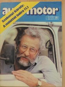 Almássy Tibor - Autó-Motor 1977., 1984., 1986-1988. (vegyes számok) (21 db)/Autó-Motor Magazin 1987. nyár [antikvár]