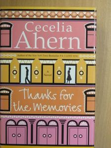 Cecelia Ahern - Thanks for the Memories [antikvár]